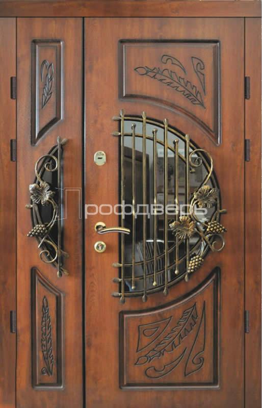 Парадные металлические двери