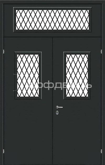 Металлические решетчатые двери