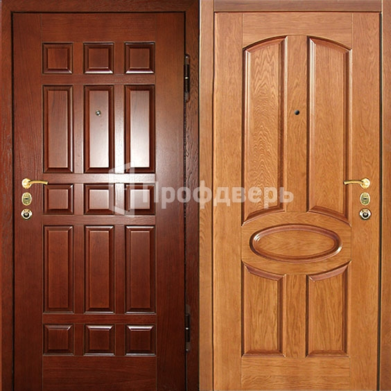 Входная дверь с отделкой МДФ