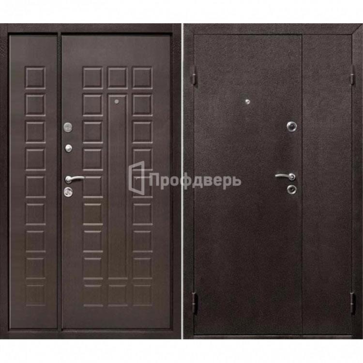 Входная квартирная дверь с МДФ