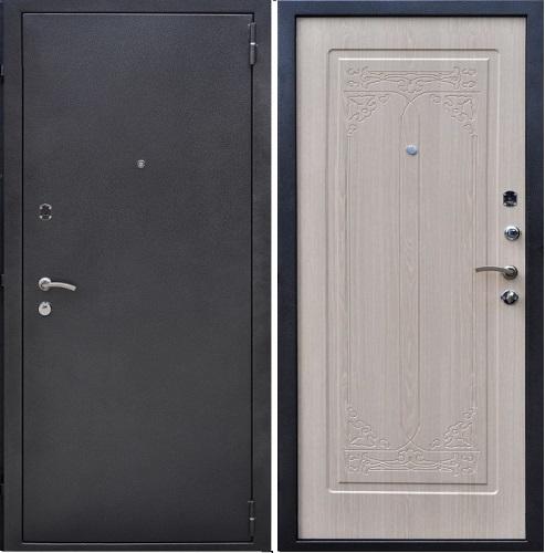 Входная дверь с порошковым окрасом
